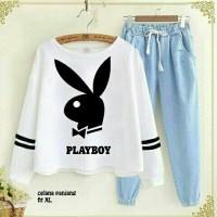 Jual Set Playboy Denim BS 1805 Murah