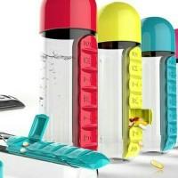 Jual Vitamin Pill Organizer/Pill Box Harian/Botol Minum Murah
