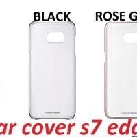 Jual SAMSUNG Clear Cover Galaxy S7 Edge Original Murah