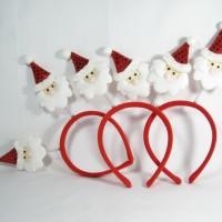 Jual Bando Santa / Bandana Christmas / Aksesoris Natal Murah