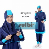 Baju Renang Muslimah Premium JUMBO 4L 5L Dewasa Sulbi SBDP Mumtaaz 03