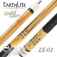Earthlite LE-02 Pool Cue Stick - Stik Biliar Maple Billiard Kiu Fury