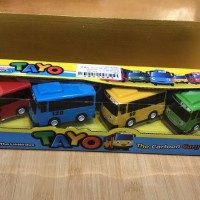 Tayo The Little Bus 1Pack Isi 4pcs / Mainan Anak Toyo