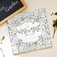 Jual Secret Garden Coloring Book / Buka Gambar dan Sketsa Murah