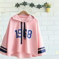 BT11237 Pink Hoodie Viola 1968 Sweater