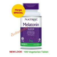 Natrol Melatonin TR Time Release 3 mg - 100 tablet