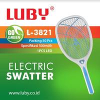 Jual Raket Nyamuk Luby L-3821 JUMBO / Electric Swatter Rechargable Murah