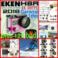 PAKET HEMAT B EKEN H8R+Remote 4K 30fps Wifi Action Camera
