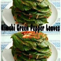 Jual Kimchi Green Pepper Leaves Korea  Murah