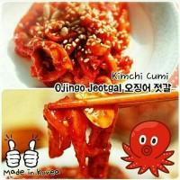 Jual Korean Ojingo Jeotgal Octopus - Kimchi Cumi Korea Murah