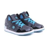 SEPATU DISTRO - Sepatui Anak Laki Laki - Sneakers Sport Kets Hitam TH