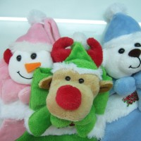 Jual Hiasan Natal Kaos Kaki Snowman Rudolph Deer Bear Murah