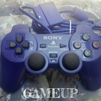 gamepad joystick stik stick playstation PS 2 PS2 ORI OP ELITE BIRU