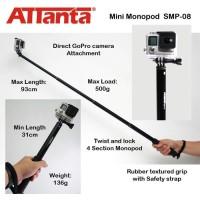 Jual Attanta Monopod SMP 08 for Action Camera,GoPro,Xiaomi Yi,SJCAM Murah
