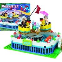 Mainan blok lego Water Merry Go Round WINNER PARADISE 226PCS - 1252