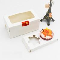 Jual  box egg tart tantart pie susu kotak kue cake acara sovenir h T0310 Murah