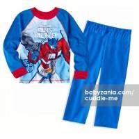 Jual  Cuddle Me Pajamas Big Size  Blue Transformer T2909 Murah