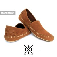 Jual  Sepatu casual santai pria handmade premi KODE BN2533 Murah
