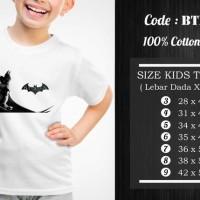 Jual  Kaos Anak Batman  Kaos Superhero  BTM008 T3009 Murah