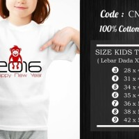 Jual  Kaos Anak Imlek  CNY023 T3009 Murah