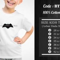 Jual  Kaos Anak Batman  Kaos Superhero  BTM007 T3009 Murah