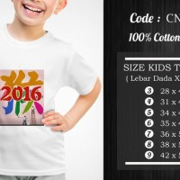 Jual  Kaos Anak Imlek  CNY026 T3009 Murah