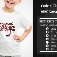 Jual  Kaos Anak Imlek  CNY022 T3009 Murah