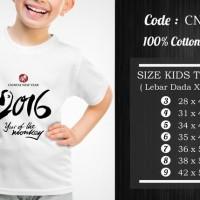 Jual  Kaos Anak Imlek  CNY020 T3009 Murah