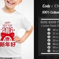 Jual  Kaos Anak Imlek  CNY018 T3009 Murah