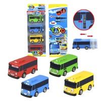 Mainan 1004 Tayo The Little Bus Sliding Door Isi 4