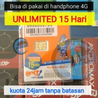 kartu perdana internet bolt kuota unlimited 15hari / alt tri cinta xl