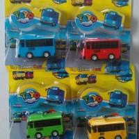 mainan anak the little bus tayo set isi 4 pcs mika (satu set)