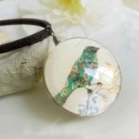 Jual Kalung Fashion Birds Floral Gemstone necklaces Murah