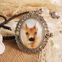 Jual Kalung Fashion Chain gemstone necklace Murah