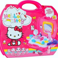 Jual BEAUTY SET HELLO KITTY KOPER - MAINAN MAKE UP DANDAN Murah