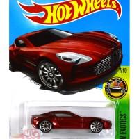 Aston Martin One-77 MERAH / RED - Hot Wheels HW Hotwheels
