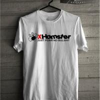 Kaos T shirt X hamster Just Porn No Bullshit