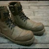 Sepatu Boots Pria Premiun Leather
