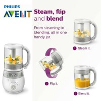 Avent Blender 4in1 4 in 1 Blender Steamer Philips Avent Food Processor