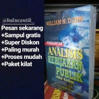 Pengantar Analisis Kebijakan Publik William N Dunn