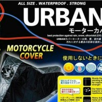 Cover Motor Urban Mantel hujan motor sport besar , Vixion CBR Bison