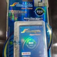 Jual baterai andromax V double power strength Murah