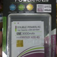 Baterai Double Power Mito Fantasy A39 4G/BA-00129 Battery Log On 2 IC