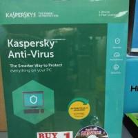 Jual Kaspersky Antivirus 1User 2018 Murah