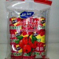 ALL JOY HAW FLAKES 216 gram Manisan Halal Cemilan Makanan Ringan Snack