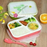 Jual Yooyee lunchbox kotak makan bento sekat ada tempat sup anti tumpah Murah