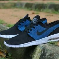 harga Sepatu Nike Stefan Janoski Skate Premium Quality / Black White Navy Tokopedia.com