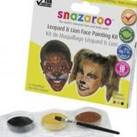 harga Snazaroo Leopard & Lion Face Painting Kit Tokopedia.com