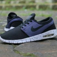 harga Sepatu Nike Stefan Janoski Skate Premium Quality / Black White Purple Tokopedia.com