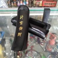Miniatur Peti Mati Guan Cai Hitam Best For Luck